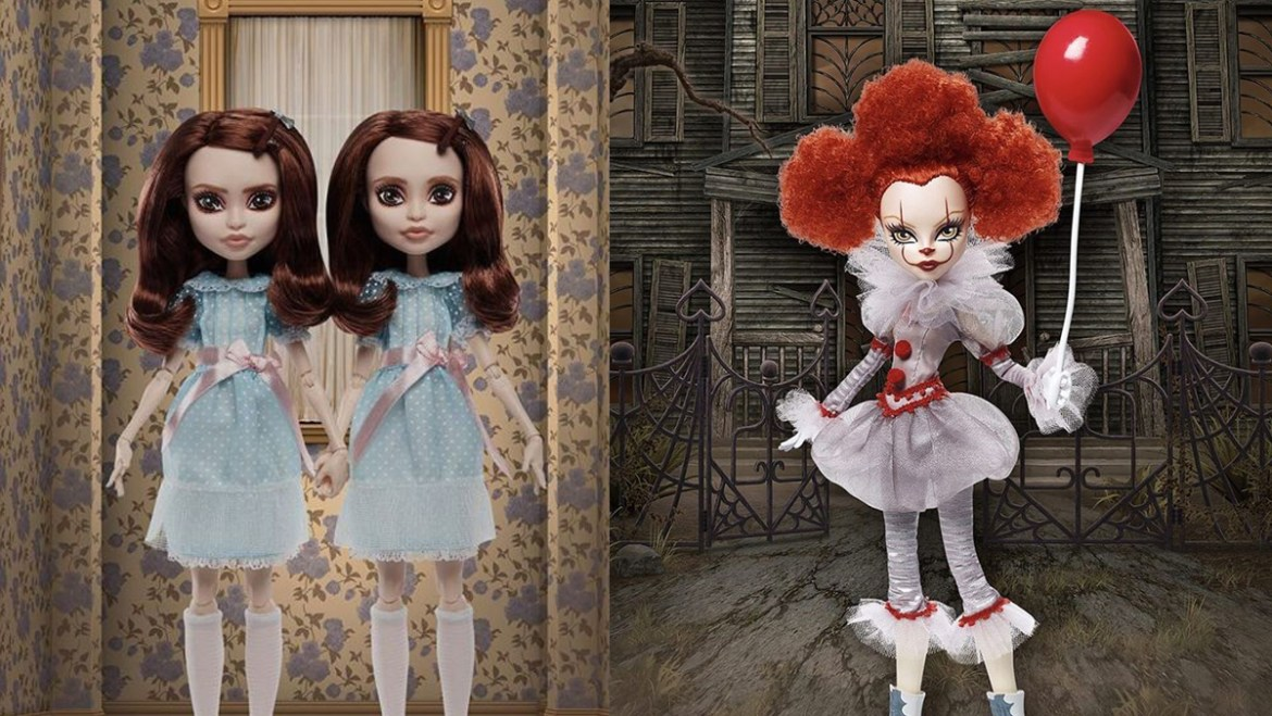 Merry Xmas? Monster High Brings Us Pennywise and the Freaky 'Shining' Twins