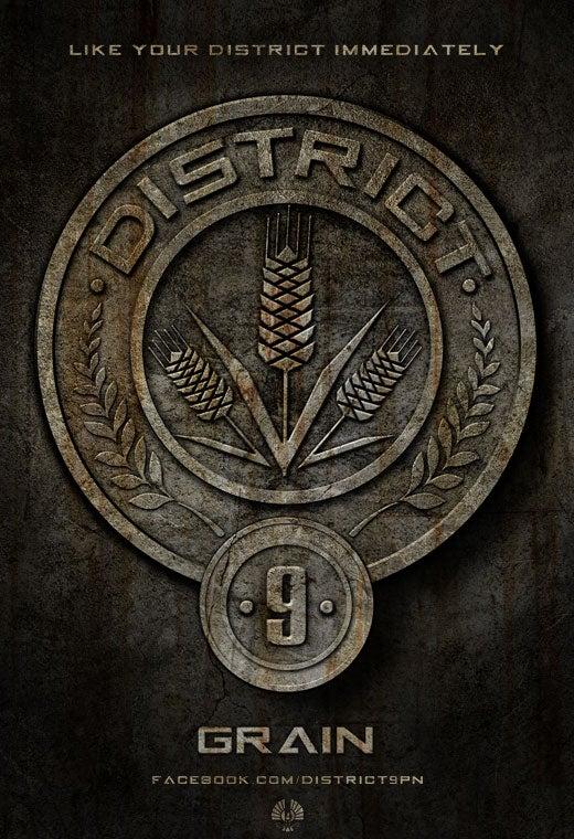 The Hunger Games Artwork