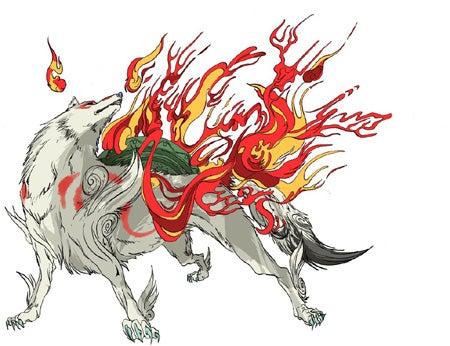 The sun goddess, Amaterasu
