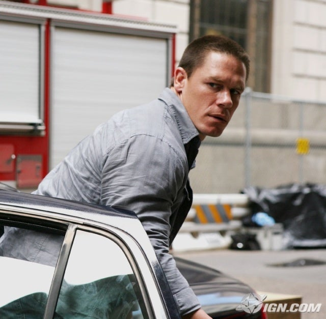 John Cena in 12 Rounds: Surly, burly and rly pissed.