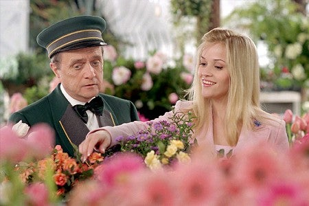 Bob Newhart and Reese Witherspoon in Legally Blonde 2