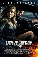 Drive Angry 3D Poster
