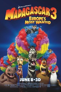 Download Madagascar 3: Europe's Most Wanted (2012) {Dual Audio} 480p [300MB] || 720p [900MB]