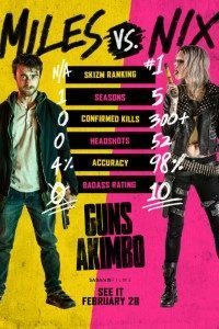 Download Guns Akimbo (2019) {English With Subtitles} WeB-DL 480p [300MB] || 720p [850MB] || 1080p [1.6GB]