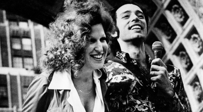Bette Midler and Vito Russo
