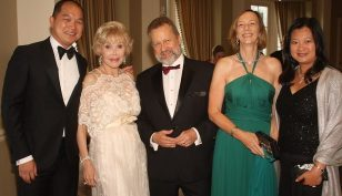 Joanne King Herring dinner party, Photo by Leslie Lormann