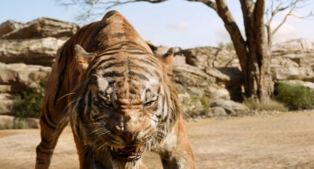 Shere Khan for The Jungle Book