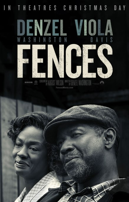 Fences Teaser Poster