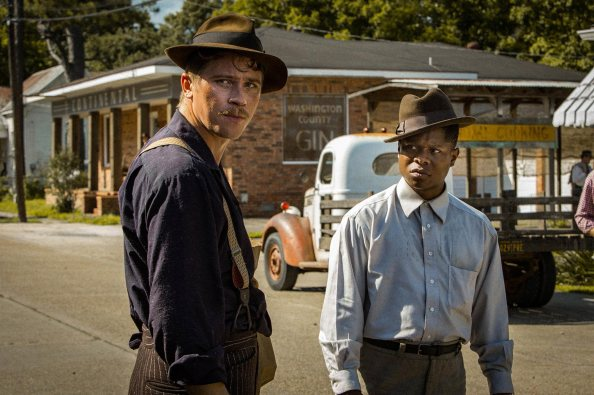 garrett Hedlund & Jason Mitchell in Mudbound