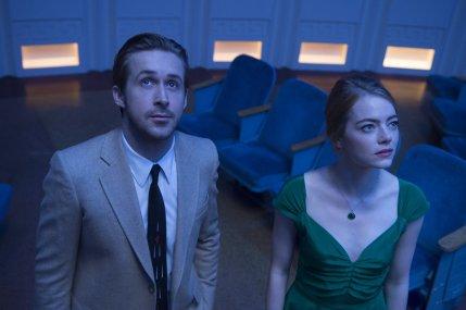 Ryan Gosling & Emma Stone in La La Land