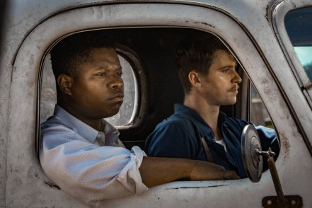 Jason Mitchell & Garrett Hedlund in Mudbound