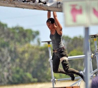 Alicia Vikander as Lara Croft