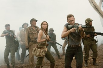 Thomas Mann, John Goodman, John C. Reilly, Brie Larson, Tom Hiddleston & Jason Mitchell in Kong: Skull Island