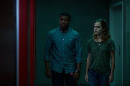John Boyega & Emma Watson in The Circle