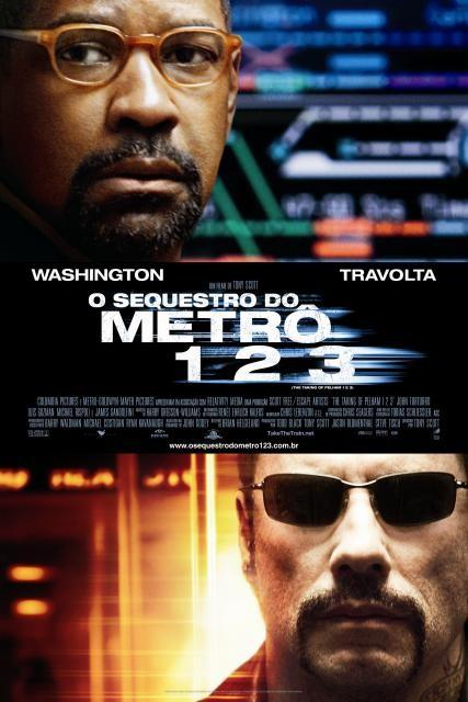 Poster do filme O Sequestro do Metrô 1 2 3