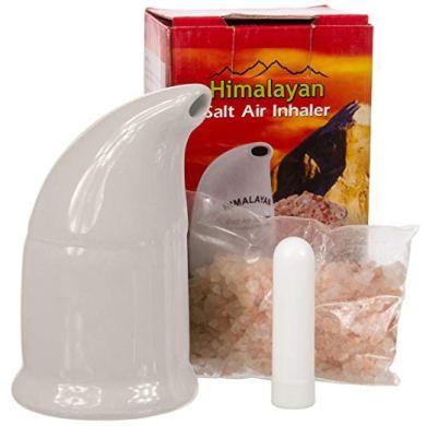 Casa Vita Himalayan Salt Inhaler with Travel Inhaler hot holiday gifts self care