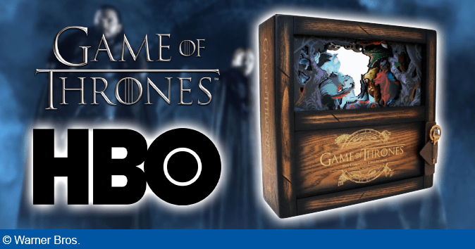 Game of Thrones: The Complete Collection ude fra 2. december 2019