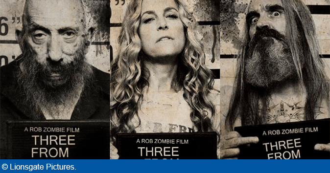 Rob Zombie's 'Three From Hell' Trailer ude nu