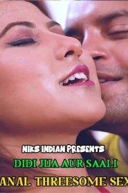 Didi – Jija Aur Saali Anal Threesome Sex (2021) Niksindian Originals Hindi Hot Short