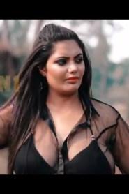Megha (Black Transparent Saree) 2021 Saree Fashion Show