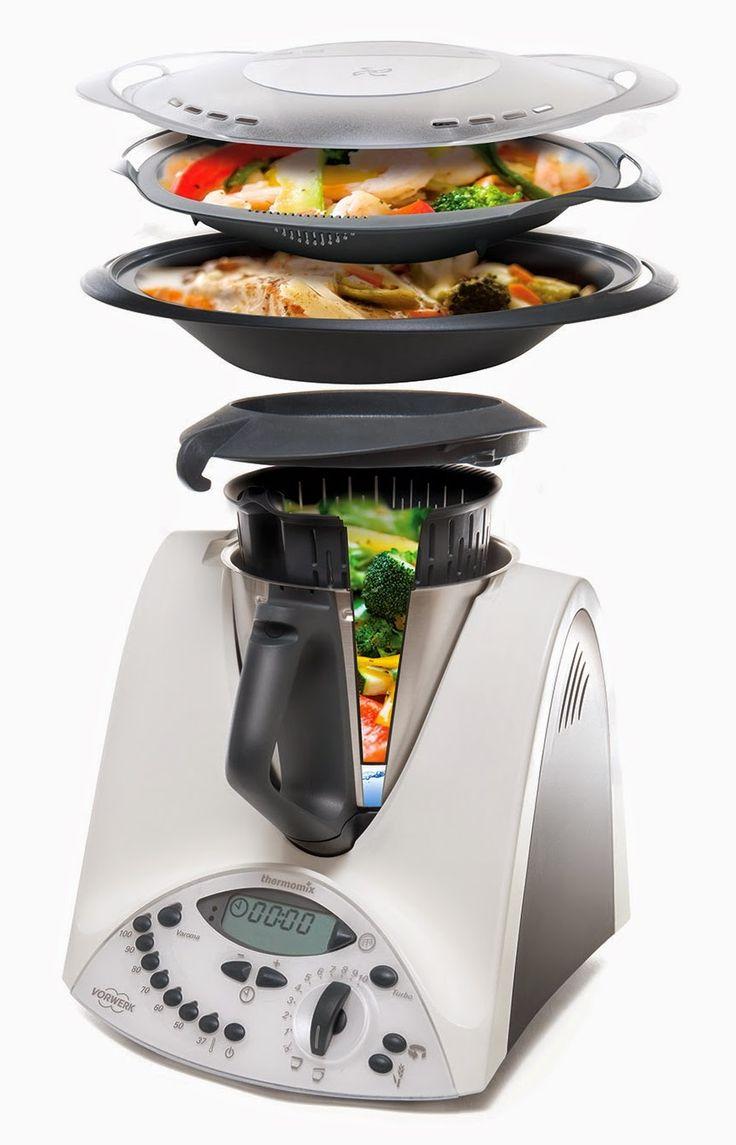 Thermomix, el robot-cocina más pequeño del mundo - Los mejores ...