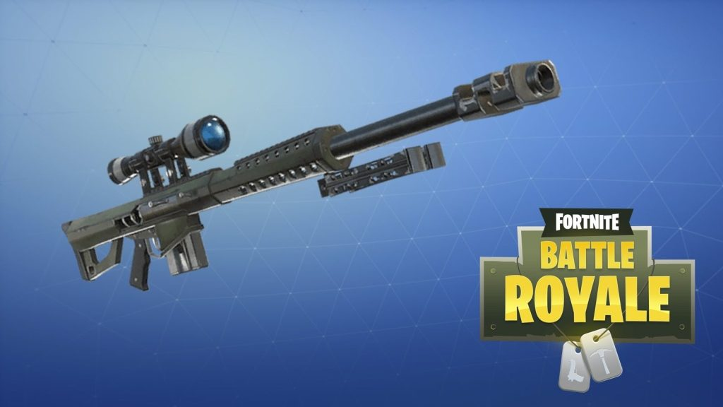 heavy sniper Fornite Battle Royale