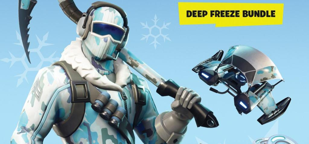 Fortnite Lote de Criogenización (Deep Freeze Bundle)