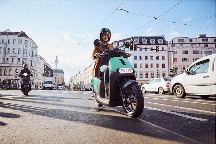 eScooter de COUP en Berlín