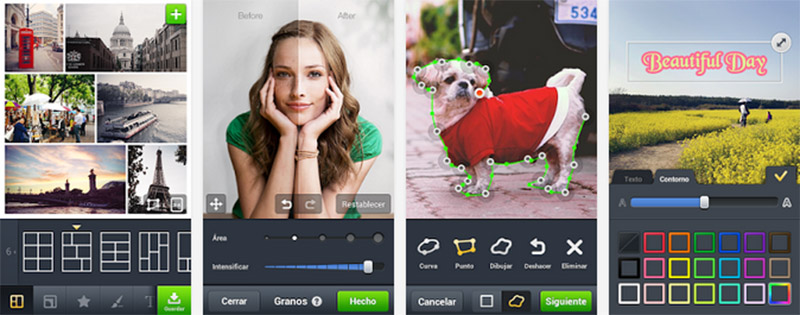aplicación para selfies LINE camera iphone android