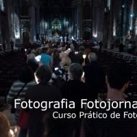 José Carlos Carvalho, repórter fotográfico da Visão, no Curso Prático de Fotografia