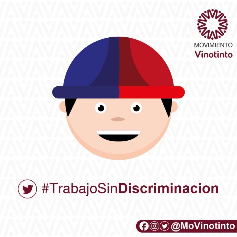 Campaña #TrabajoSinDiscriminacion