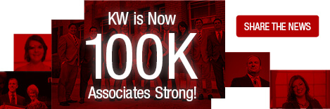keller williams is now 100,000 agents strong