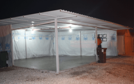 Fig 2: UNHCR pavilion