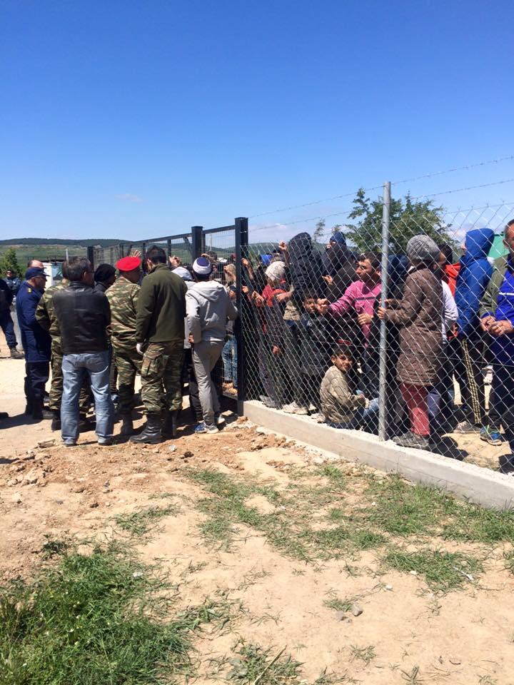 Picture: Εθελοντές Κιλκίς Πρόσφυγες Ειδομένη/Volunteers Kilkis Refugees Idomeni