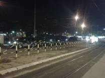 Massive police presence