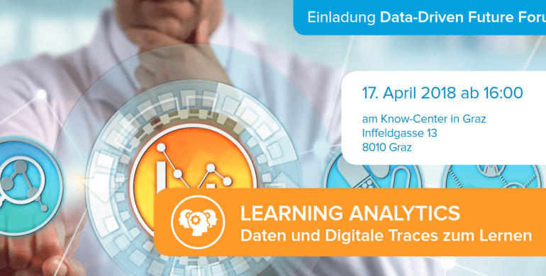 MOVING @ Data Driven Future Forum: Learning Analytics – Daten und Digitale Traces zum Lernen