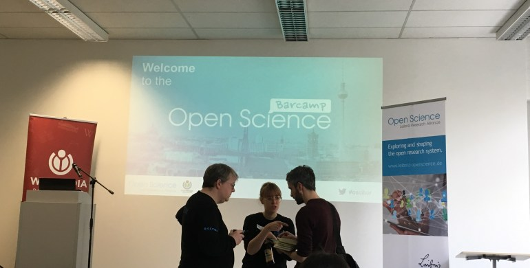 MOVING successfully participated @ the Open Science Barcamp