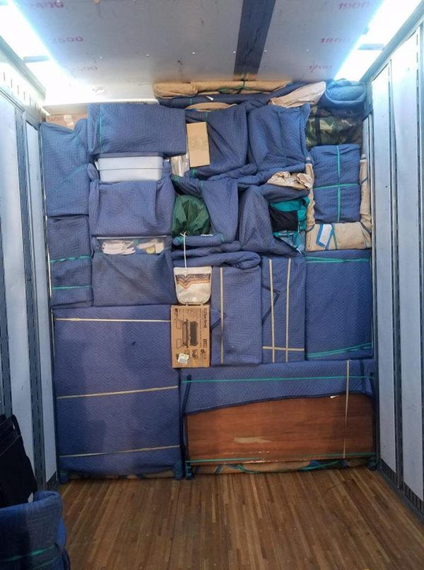 Jacksonville full service moving packing loading truck