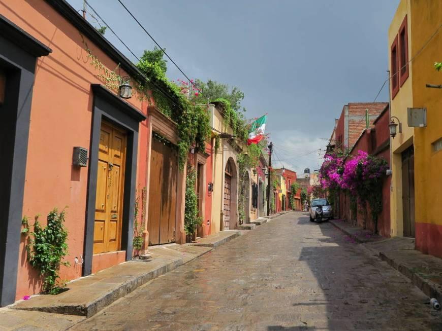 In den Straßen von San Miguel de Allende