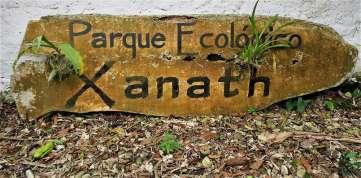 Xanath Schild web - Veracruz - Auf den Spuren der Vanille in Papantla