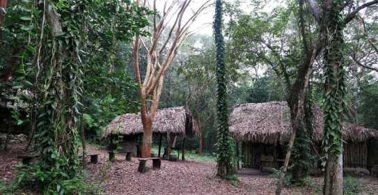 Xanath Totonakenhaus web - Veracruz - Auf den Spuren der Vanille in Papantla