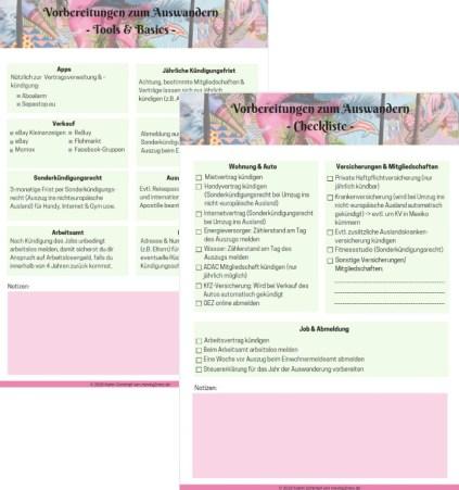 Checkliste Auswandern2 -