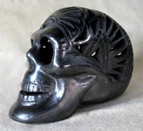 Totenschädel aus Barro negro