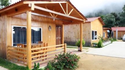 """Unser Häuschen für's Wochenende in der """"Rancho viejo"""" vorm Ortseingang."""