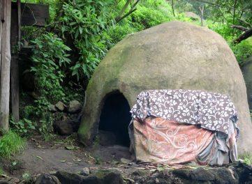 Ein traditionelles Temazcal ist eine Art Saune, die bereits die Azteken nutzten.