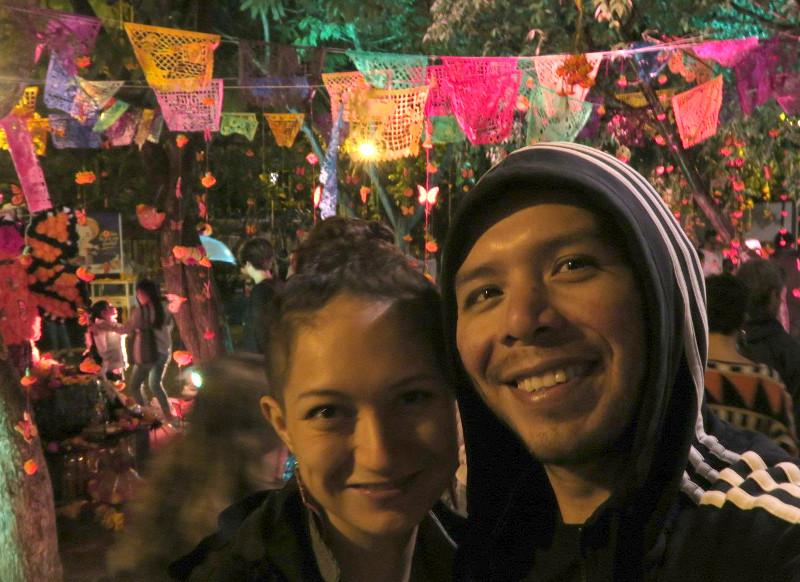 Wir xochimilco blog - Dia de los Muertos - Tag der Toten in Oaxaca