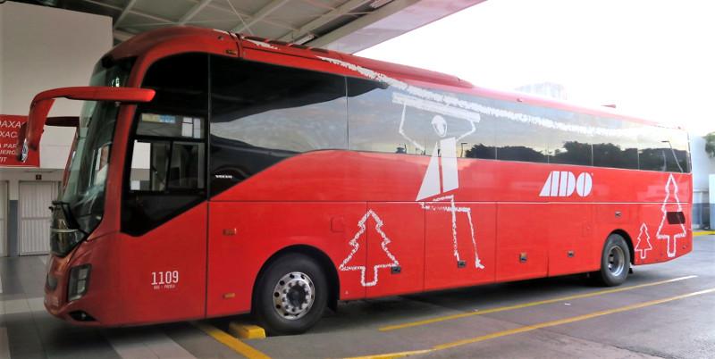 ADO normal außen - Mit dem Bus durch Mexiko - So geht's