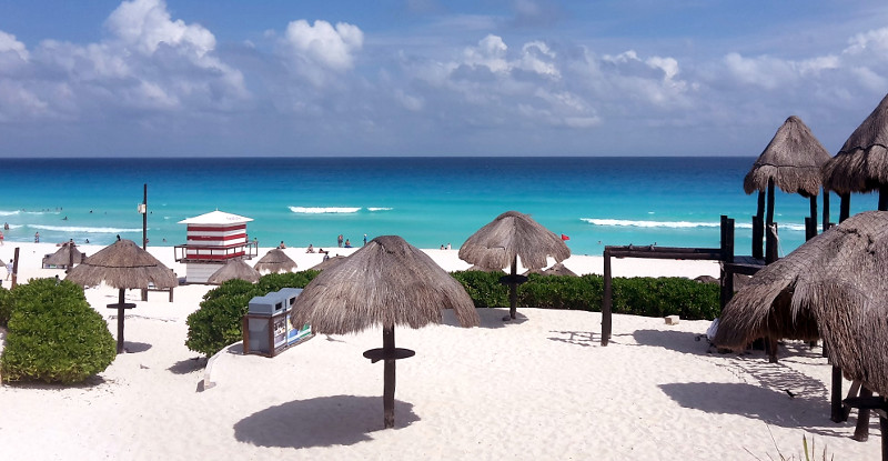 Cancun - Zwei Monate Mexiko - Backpacking Reiseroute