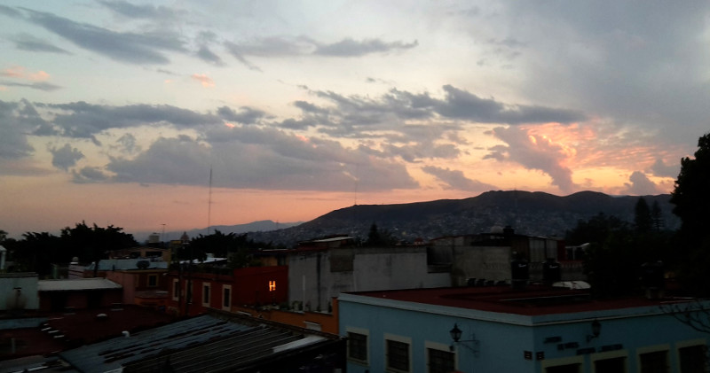 Oaxaca Wolken - Zwei Monate Mexiko - Meine Reiseroute