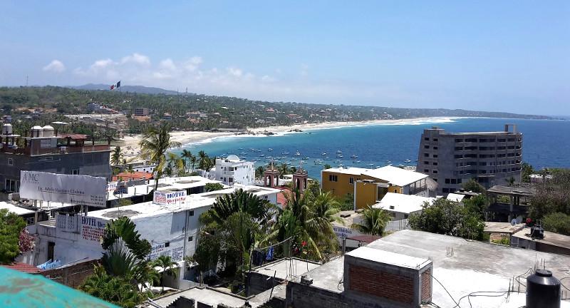 Puerto Escondido - Zwei Monate Mexiko - Backpacking Reiseroute